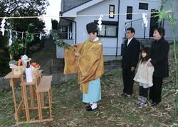 山本家の地鎮祭